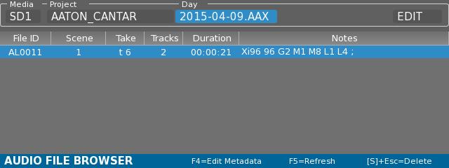 CantarX3 | Aaton Digital