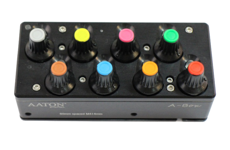 Kit of 13 A-Box trim knob coloured plug