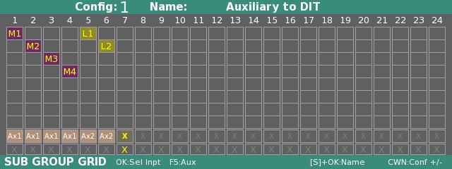 Auxiliary Mix Buses Cantar V3