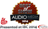 Cantar X3 - Best of show at IBC 2014