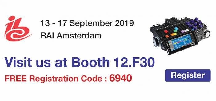 Register to see Aaton Transvideo at IBC 2019