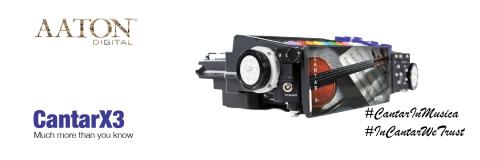 Aaton CantaX3 Audio mixer-recorder