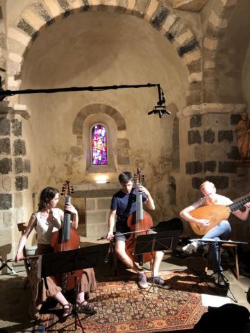 Philippe Mouisset John Playford trio baroque with CantarX3 la Grange à Sons