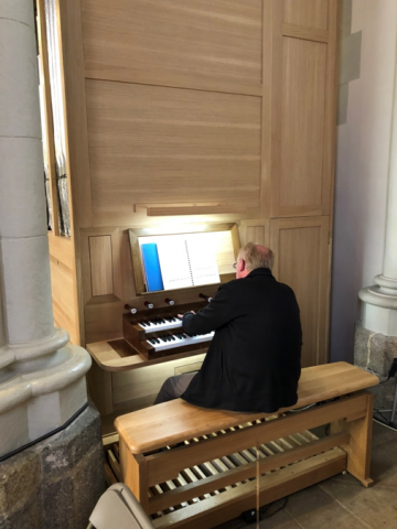 Philippe Mouisset Philippe Lefebvre Mendelssohn with CantarX3 la Grange à Sons