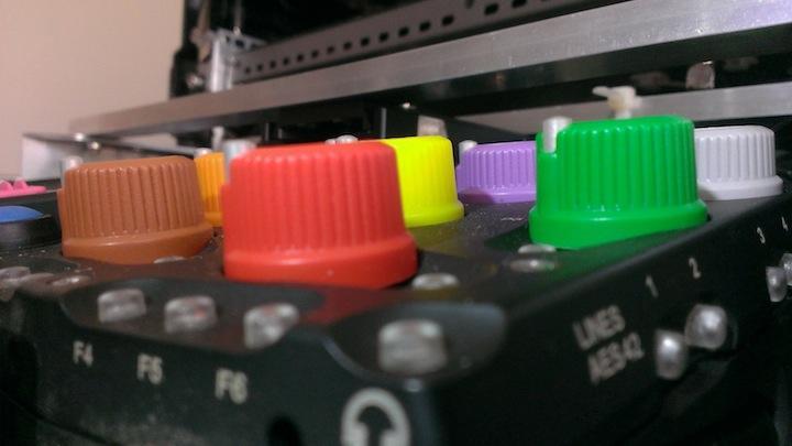 Aaton Cantar Colored High Pot Knob assembly