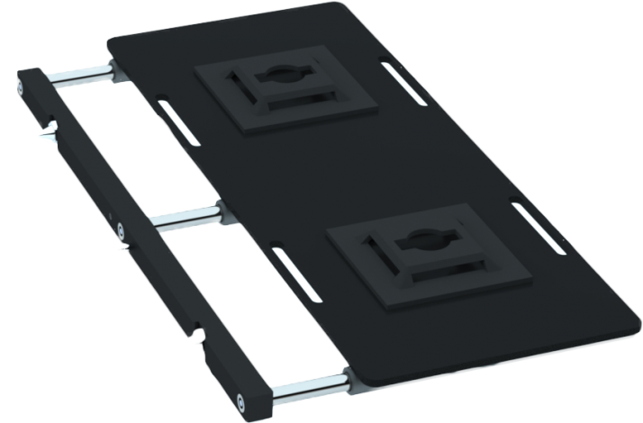 Side plate support