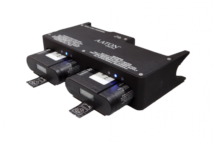 Dual Li-Ion AATON Smart Battery Charger - Light